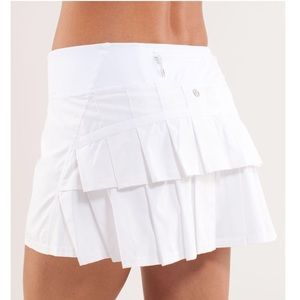 Lululemon Pace Setter Run/Tennis/Golf Skirt 6